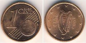 1 Eurocent Irland (1922 - ) Kupfer/Stahl