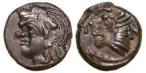 1 Tetrachalkon Antikes Griechenland (1100BC-330) Bronze