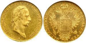 1 Ducat 奧地利帝國 (1804 - 1867) 金 弗朗茨二世 (神圣罗马帝国) (1768 - 1835)