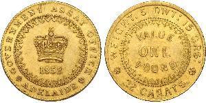 1 Pound Australia (1788 - 1939) Gold