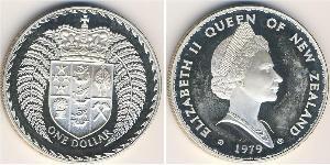 1 Dollaro Nuova Zelanda Argento