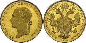 1 Ducat Austrian Empire (1804-1867) Gold Franz Joseph I (1830 - 1916)