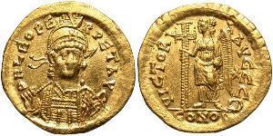 1 Solidus Empire byzantin (330-1453) Or Léon I (401-474)