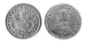 1 Ducat Augsbourg (1276 - 1803) Or Joseph II, Holy Roman Emperor  (1741 - 1790)