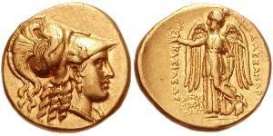 1 Статер Держава Селевкідів (312BC-63 BC) Золото Селевк I Нікатор (358BC-281BC)