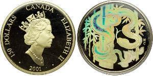 150 Dollaro Canada Oro Elisabetta II (1926-)