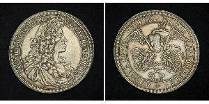 1 Талер Габсбурзька імперія (1526-1804) Срібло Леопольд I Габсбург(1640-1705)