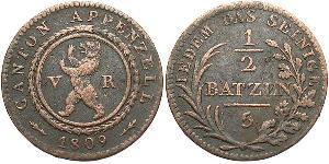 0.5 Батц Швейцарія