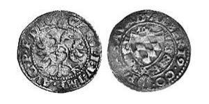 3 Kreuzer Duchy of Bavaria (907 - 1623) 銀 Albert V, Duke of Bavaria (1528 – 1579)