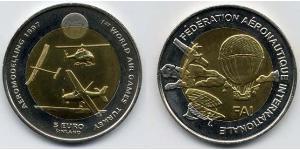 5 Euro Finlandia (1917 - ) Bimetal