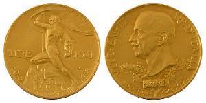 100 Lira Kingdom of Italy (1861-1946) Gold