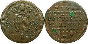 0.5 Baiocco Vatikan (1926-) Kupfer