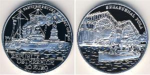 20 Euro Republik Österreich (1955 - ) Silber