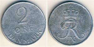 2 Ore Dänemark Zink
