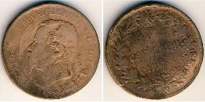 Centesimo Kingdom of Italy (1861-1946) Cobre Victor Emmanuel II of Italy (1820 - 1878)