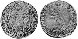 1/3 Талер Анхальт (1212 - 1806) Срібло