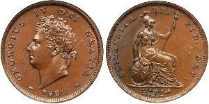 1 Penny United Kingdom of Great Britain and Ireland (1801-1922) Bronze George IV (1762-1830)