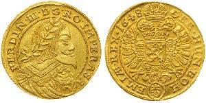 1 Дукат Священная Римская империя (962-1806) Золото Ferdinand III, Holy Roman Emperor (1608-1657)