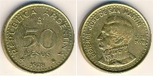 50 Peso 阿根廷 青铜/铝
