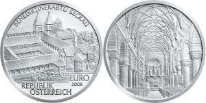 10 Euro Republik Österreich (1955 - ) Silber