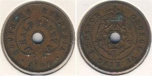 1/2 Penny Southern Rhodesia (1923-1980) Bronze