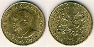 10 Cent Kenya Bronze
