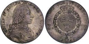 1 Riksdaler Sweden Silver Gustav IV Adolf of Sweden (1778 - 1837)