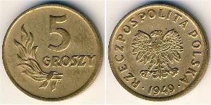 5 Грош Польша Бронза