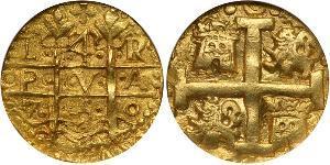 4 Escudo Pérou Or Ferdinand VI d