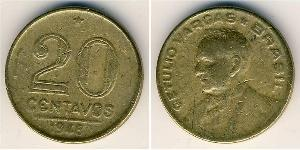 20 Centavo Brazil Bronze/Aluminium