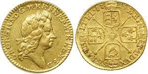 1/2 Guinea Reino de Gran Bretaña (1707-1801) Oro Jorge I (1660-1727)