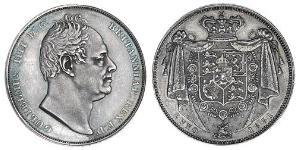 1 Crown United Kingdom of Great Britain and Ireland (1801-1922) Silver William IV (1765-1837)