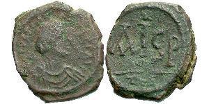 Nummus Византийская империя (330-1453) Бронза Юстиниан I (482-565)