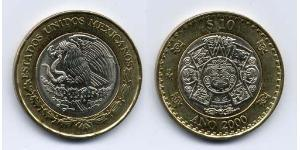 10 Peso Messico (1867 - ) Bimetal