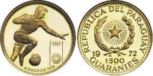 1500 Guaraní Paraguay (1811 - ) Oro