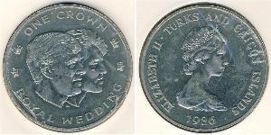 1 Krone Îles Turques-et-Caïques Cuivre/Nickel