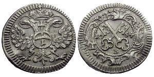 1 Kreuzer Germania Biglione Argento