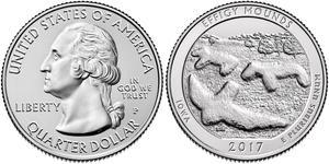 1/4 Dollar Vereinigten Staaten von Amerika (1776 - ) Kupfer George Washington