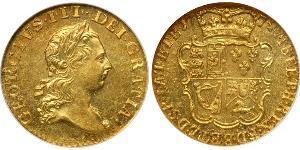 1/2 Гинея Королевство Великобритания (1707-1801) Золото Георг III (1738-1820)