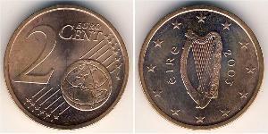2 Eurocent Irlanda (1922 - ) Cobre/Acero
