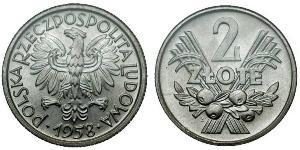 2 Zloty Polen