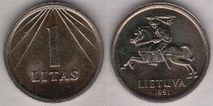 1 Litas Lituania (1991 - )