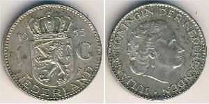 1 Gulden Kingdom of the Netherlands (1815 - ) Silver