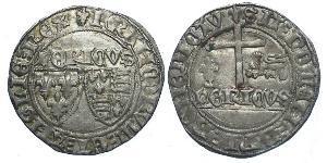 Королевство Франция (843-1791) Серебро Генрих VI (1421-1471)