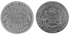 1/2 Penny Ôstralie (1788 - 1939) Cuivre