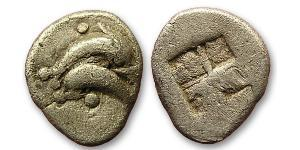 1 Obol Ancient Greece (1100BC-330) 銀