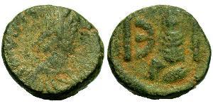 Пентанумиум Византийская империя (330-1453) Бронза Юстиниан I (482-565)