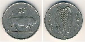 5 Penny Ireland (1922 - ) Copper/Nickel