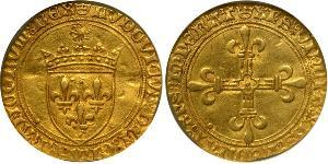 1 Ecu Reino de Francia (843-1791) Oro Luis XII de Francia (1462 - 1515)