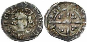 1 Penny Kingdom of England (927-1649,1660-1707) Silver Edward III (1312-1377)